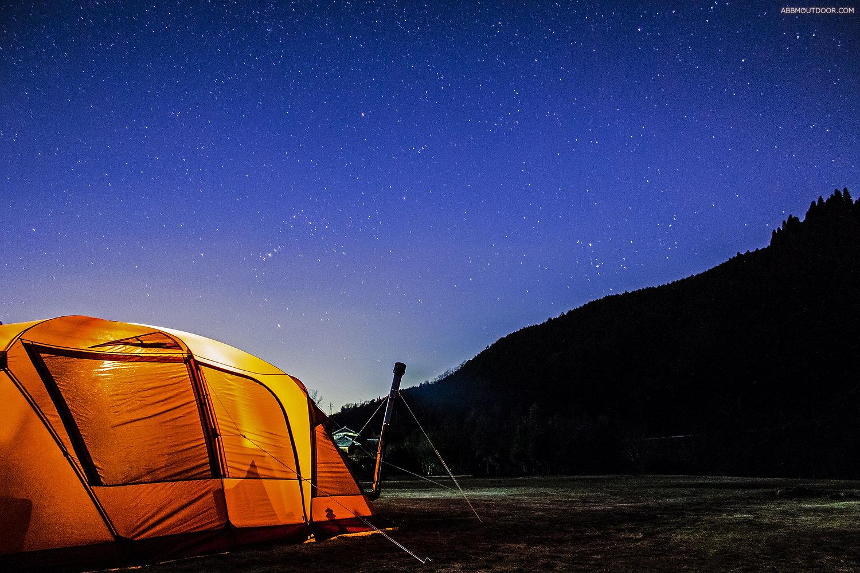 思いがけず綺麗な星空! 池島で引きこもりキャンプ4 Abbm Outdoor