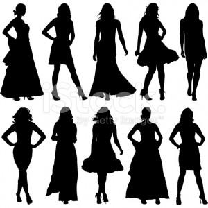 stock-illustration-6581938-fashionable-women-silhouette-set